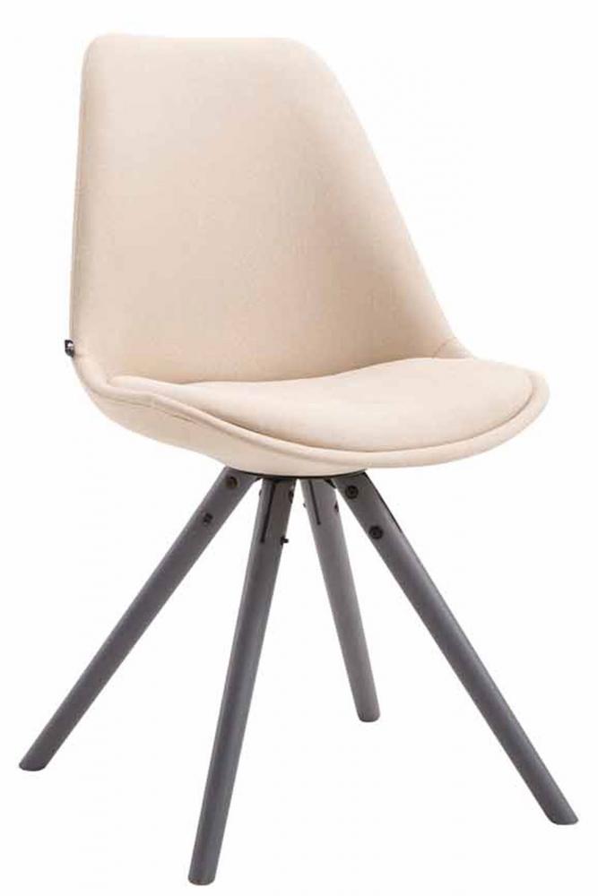Jídelní židle Louse, krémová