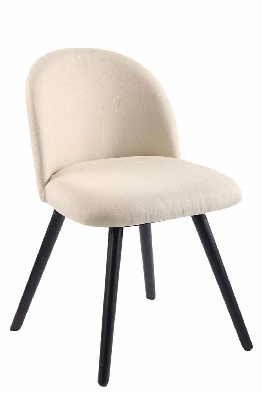 Jídelní židle Mandel textil, černé nohy