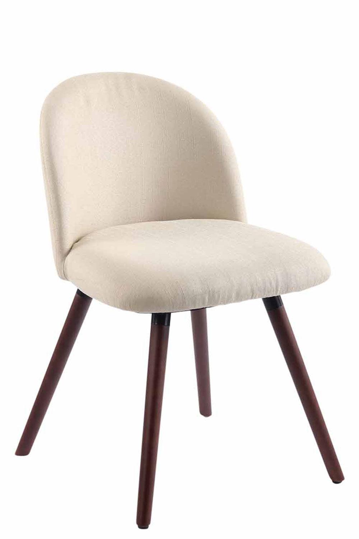 Jídelní židle Mandel textil, nohy ořech