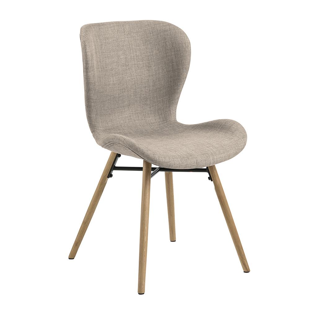 Jídelní židle Matylda (SET 2 ks) šedá