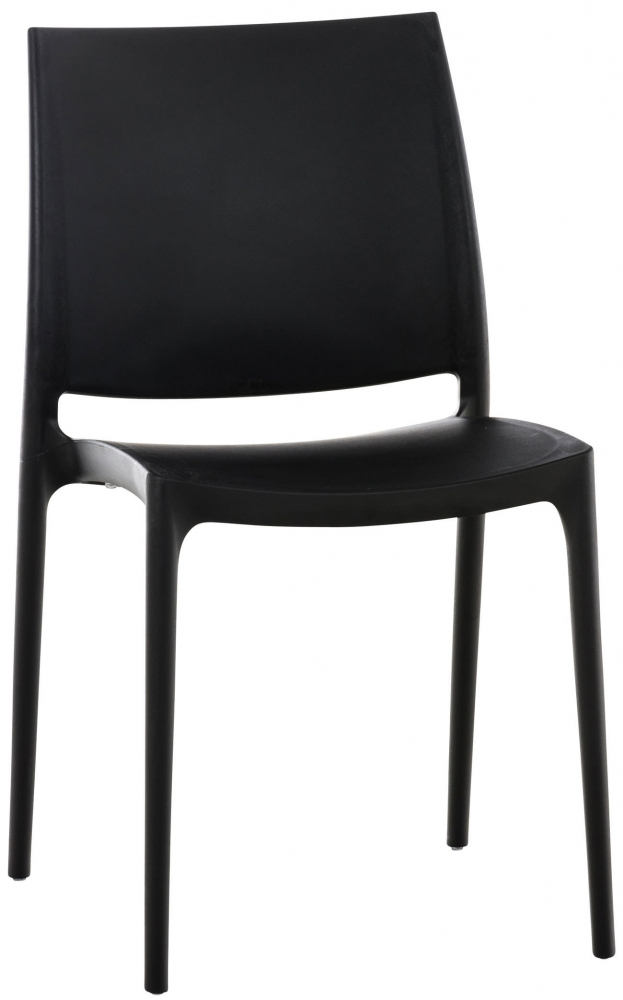 Jídelní židle May, černá
