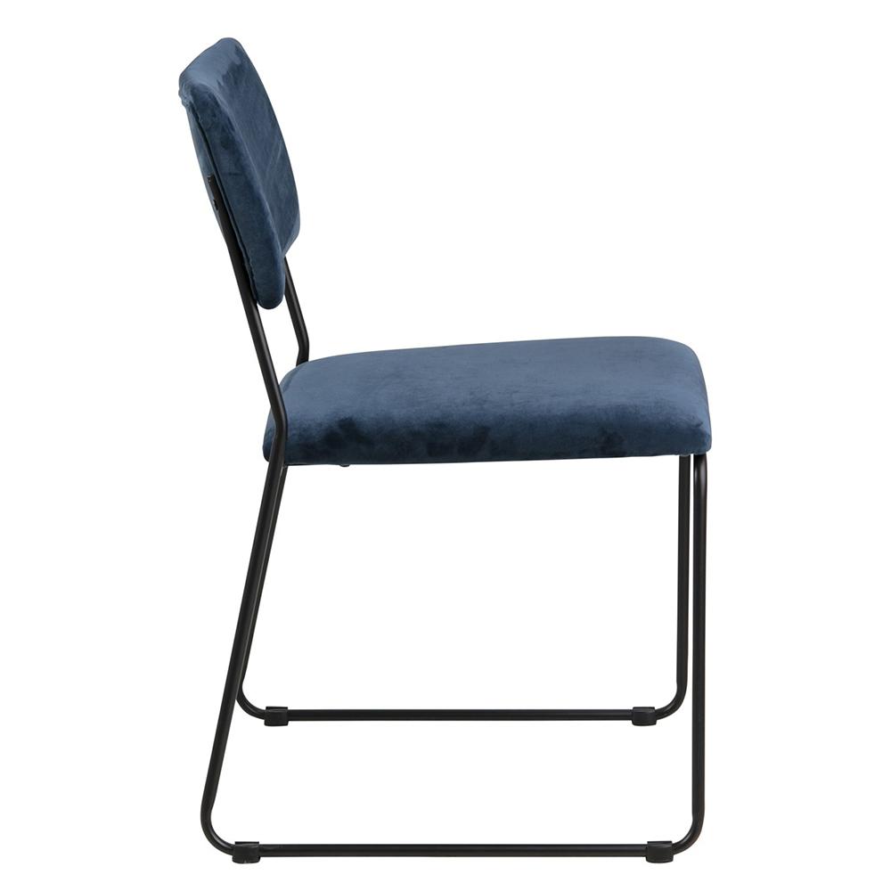 Jídelní židle Melodi  (SET 2 ks), modrá