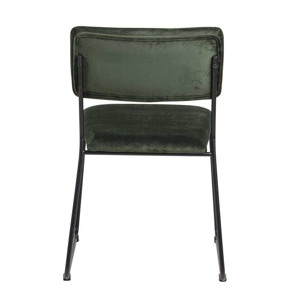 Jídelní židle Melodi  (SET 2 ks), zelená