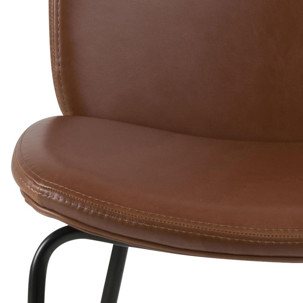 Jídelní židle Meredith (SET 2 ks), koňaková