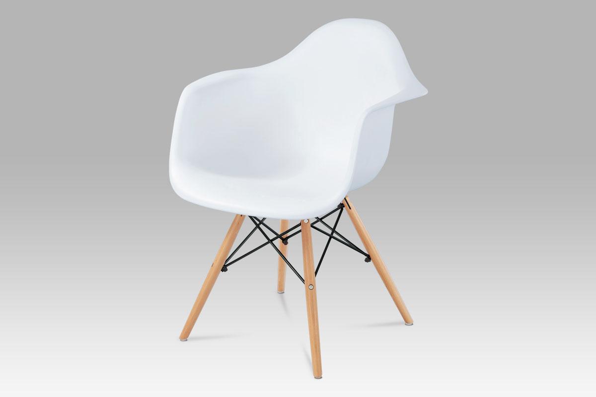 Jídelní židle Milana (SET 4 ks), bílá