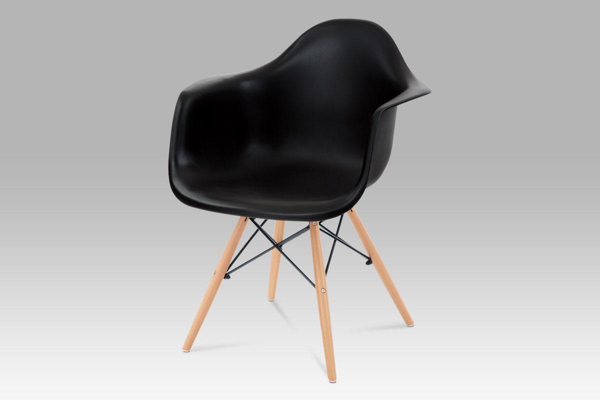 Jídelní židle Milana (SET 4 ks), černá