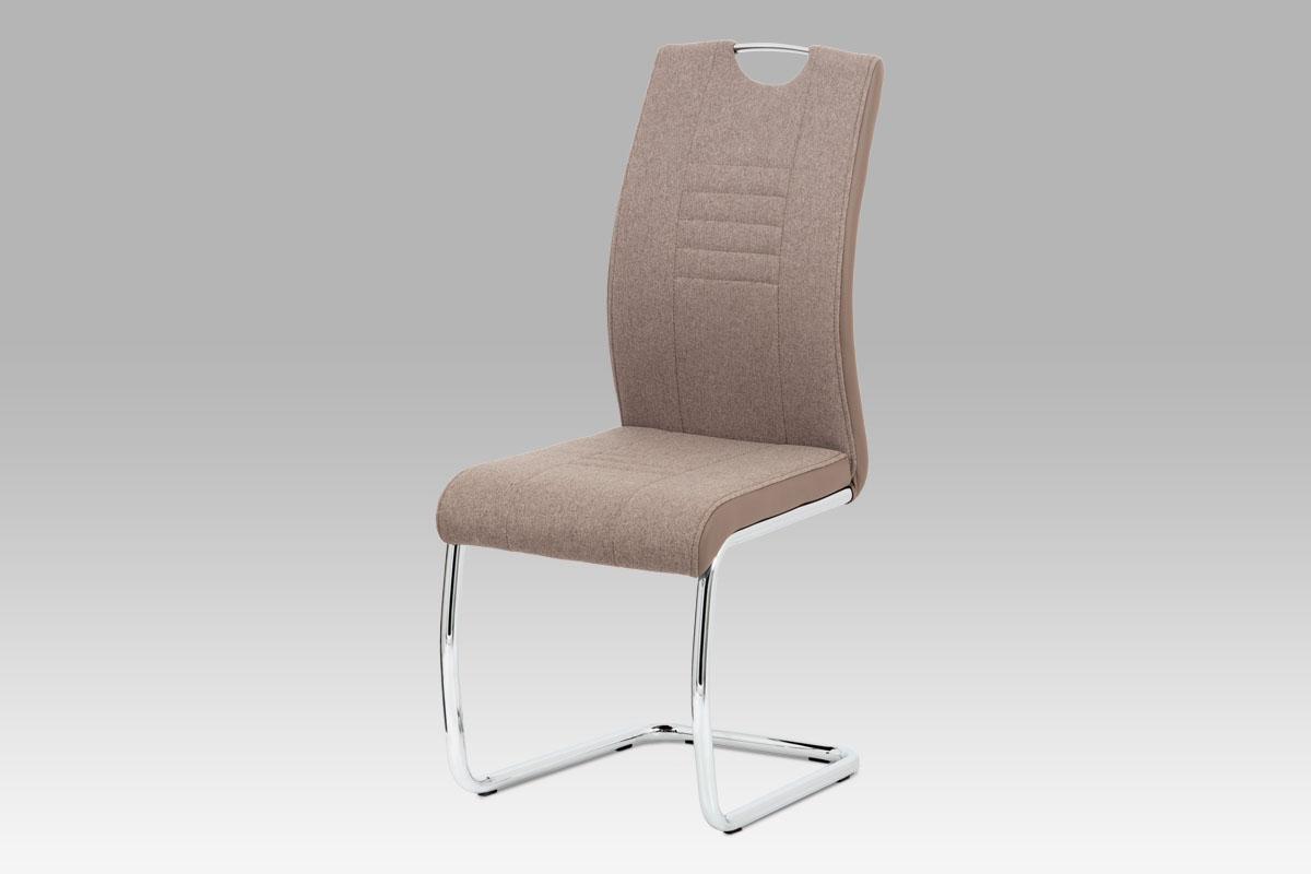 Jídelní židle Mildo (SET 4 ks), cappuccino