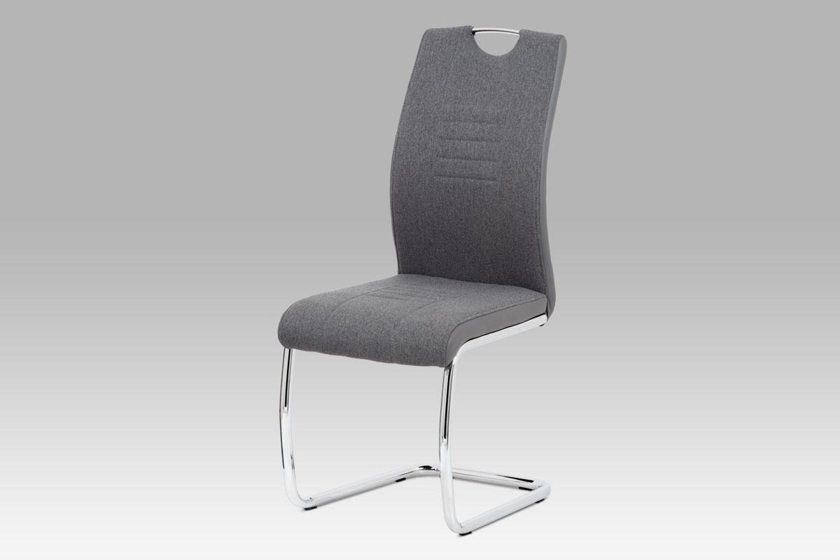 Jídelní židle Mildo (SET 4 ks), šedá