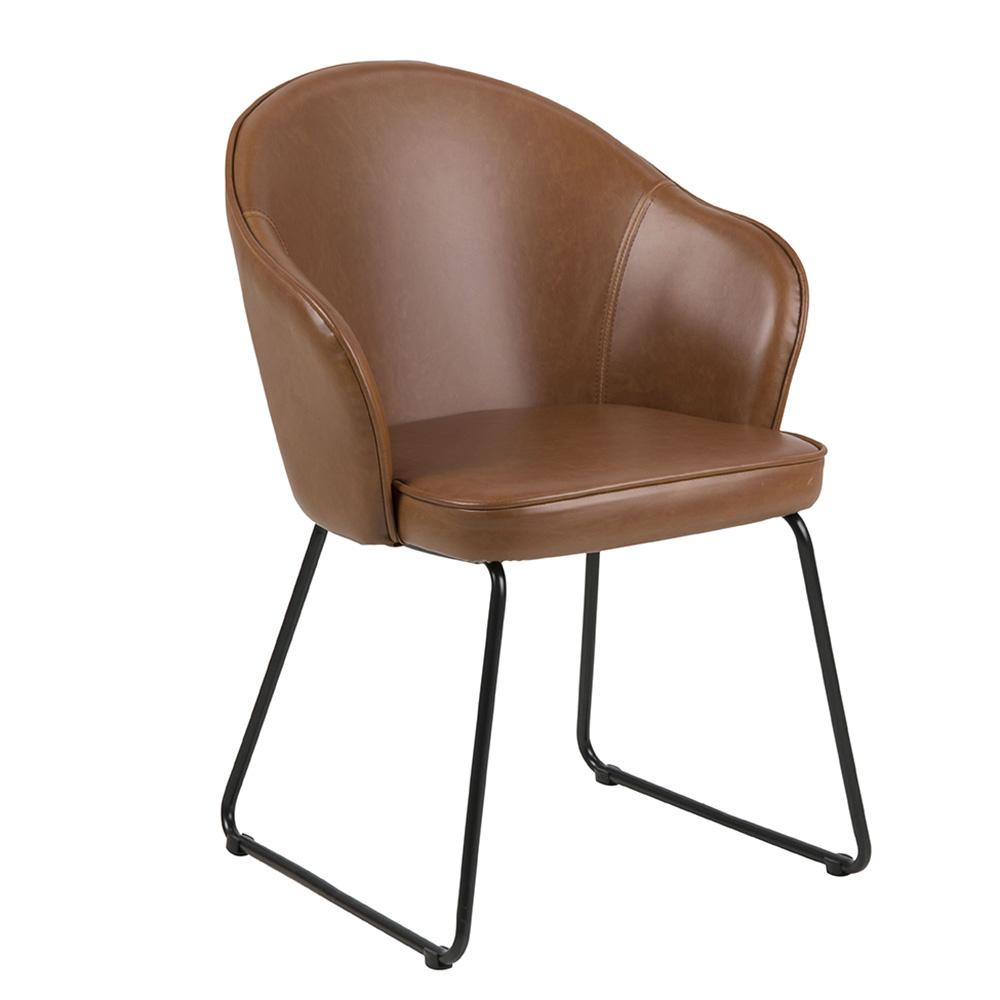 Jídelní židle Milena, koňaková