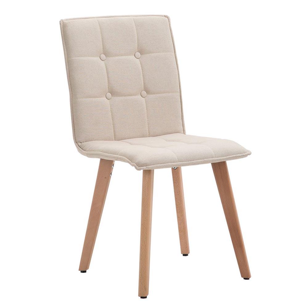 Jídelní židle Miriam textil, přírodní béžová