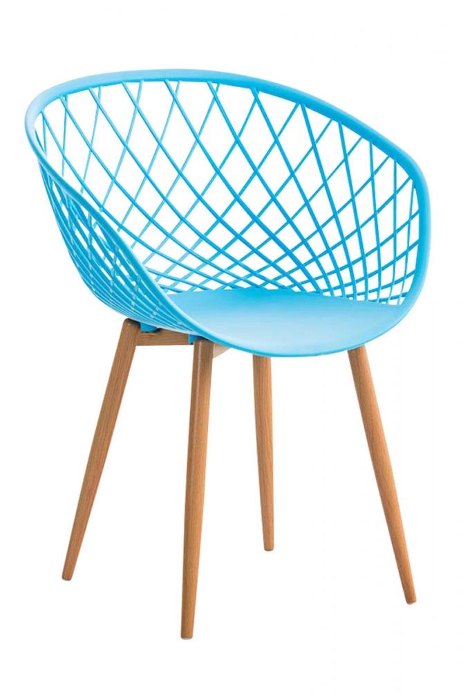Jídelní židle Mora, modrá