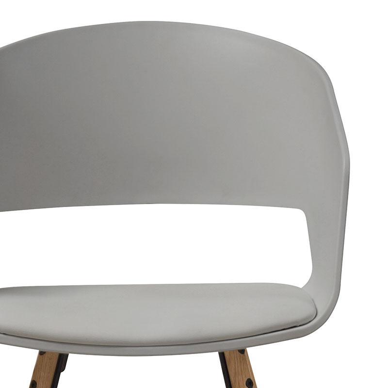 Jídelní židle Nadja (SET 2 ks), šedá