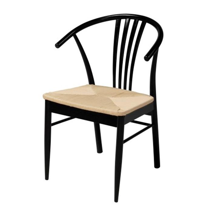 Jídelní židle Navy (SET 2 ks), černá