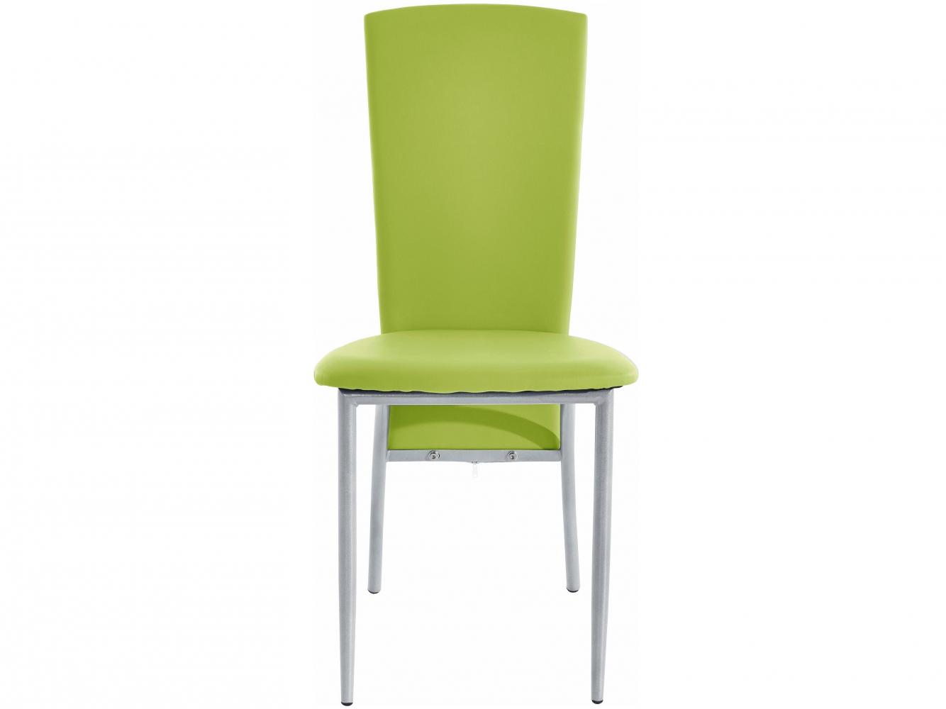 Jídelní židle Nelso (SET 2 ks), zelená