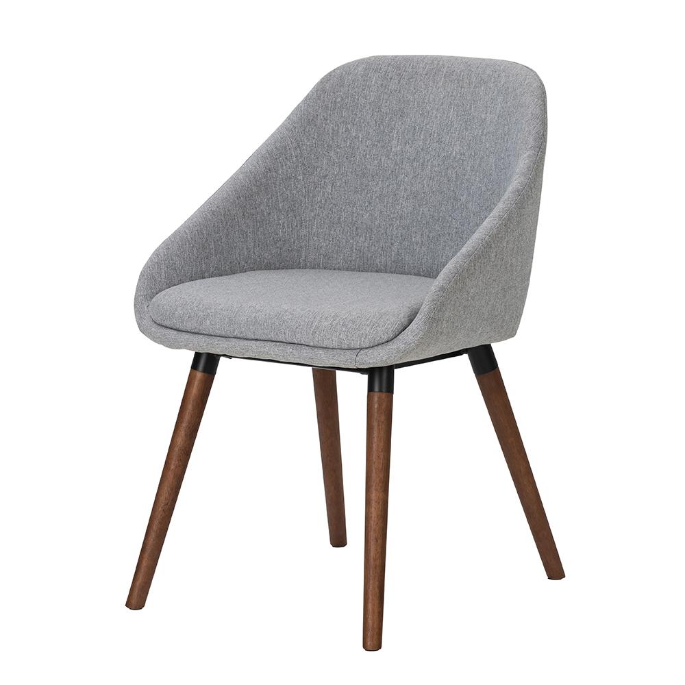 Jídelní židle Nilen (SET 2 ks), šedá