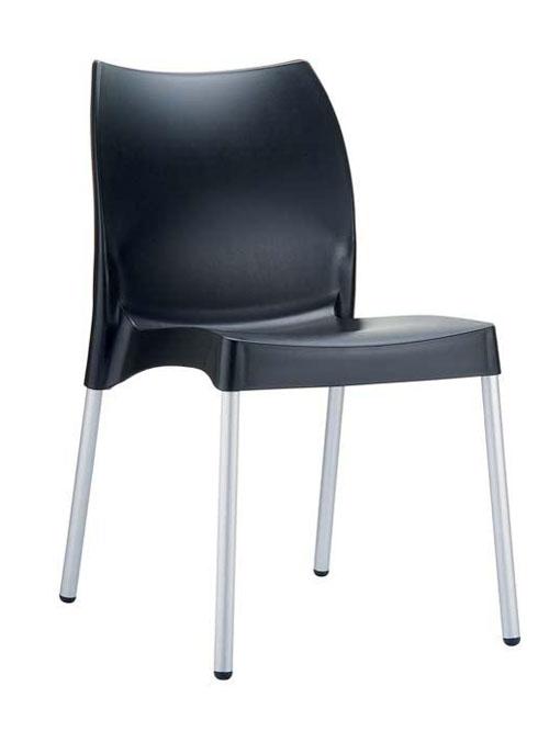 Jídelní židle plastová Willy (SET 2 ks)
