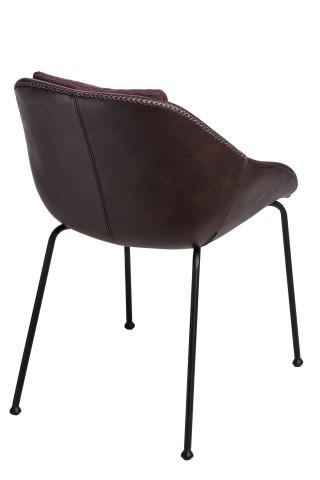 Jídelní židle Potter, hnědá