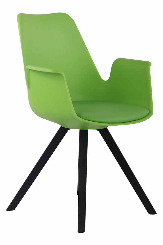 Jídelní židle Prins, černé nohy modrá