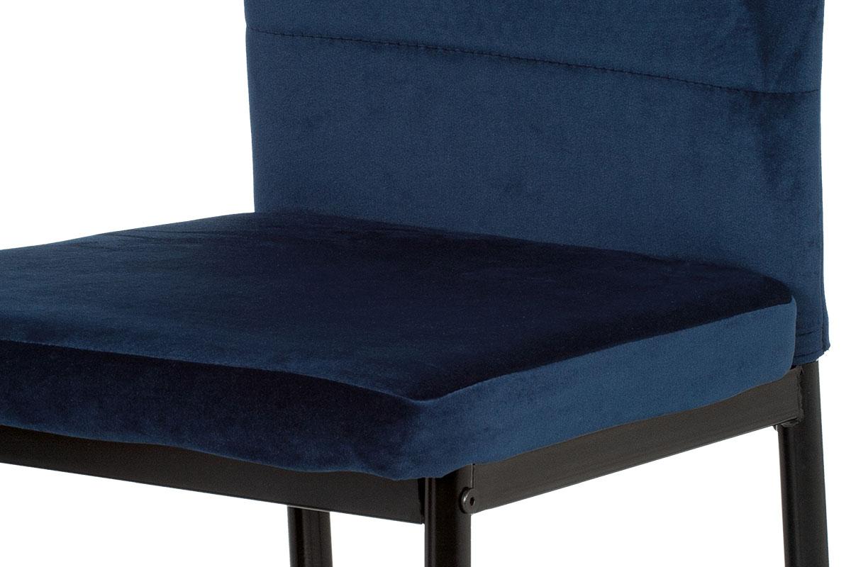 Jídelní židle Quido, modrá