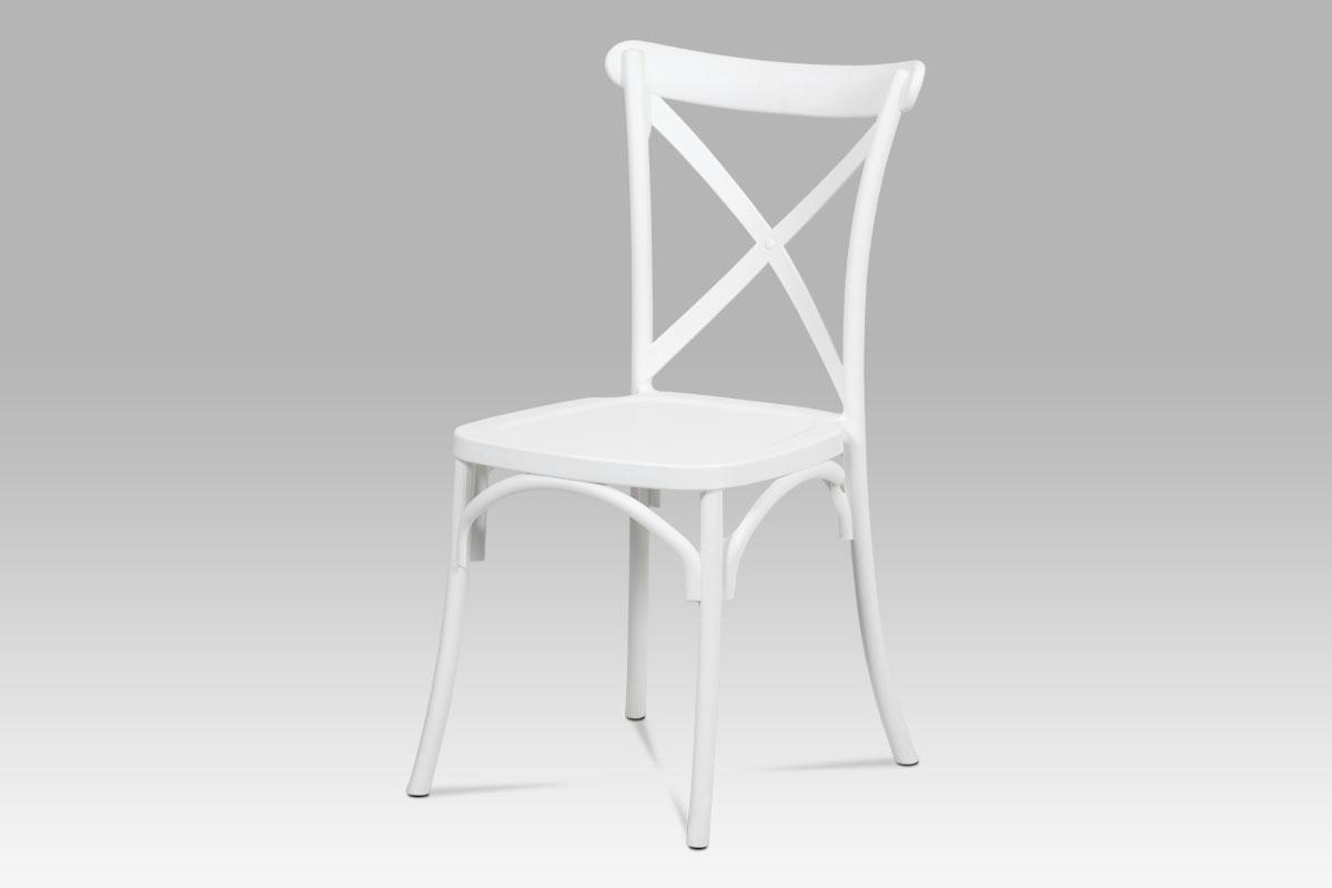 Jídelní židle René (SET 4 ks), bílá