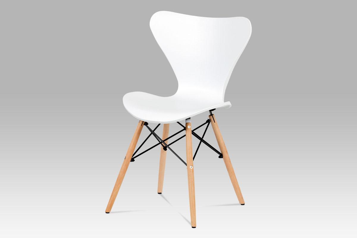 Jídelní židle Rini (SET 4 ks), bílá