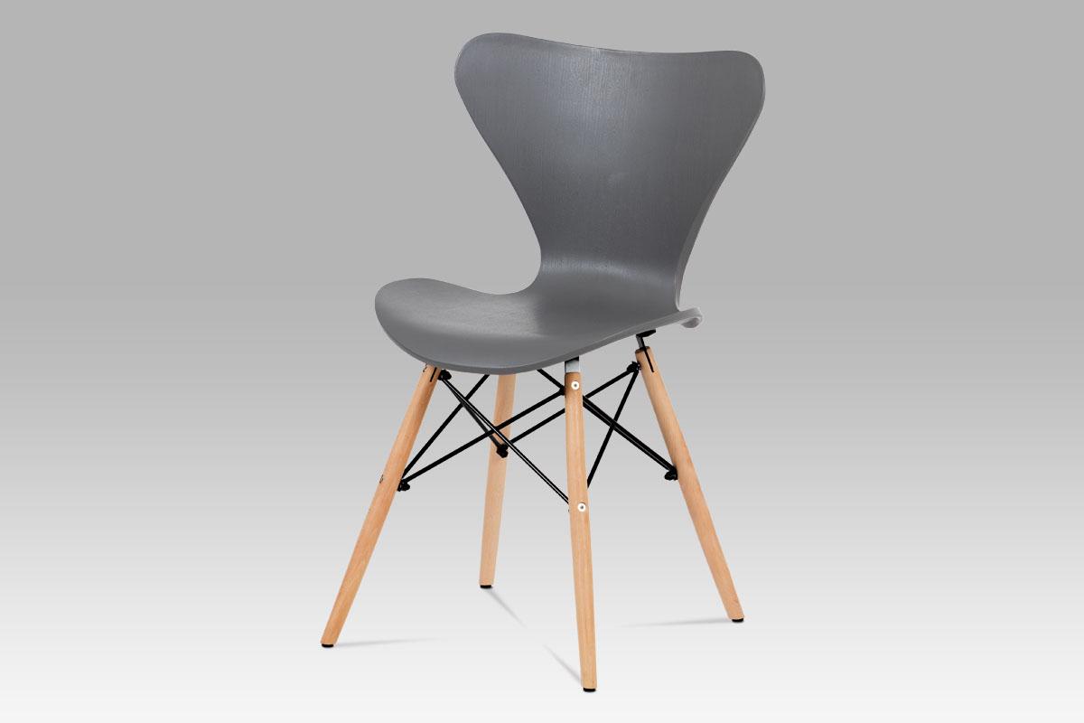 Jídelní židle Rini (SET 4 ks), šedá