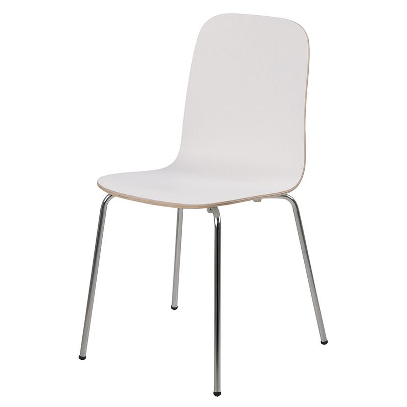 Jídelní židle Ronja (SET 4 ks), bílá