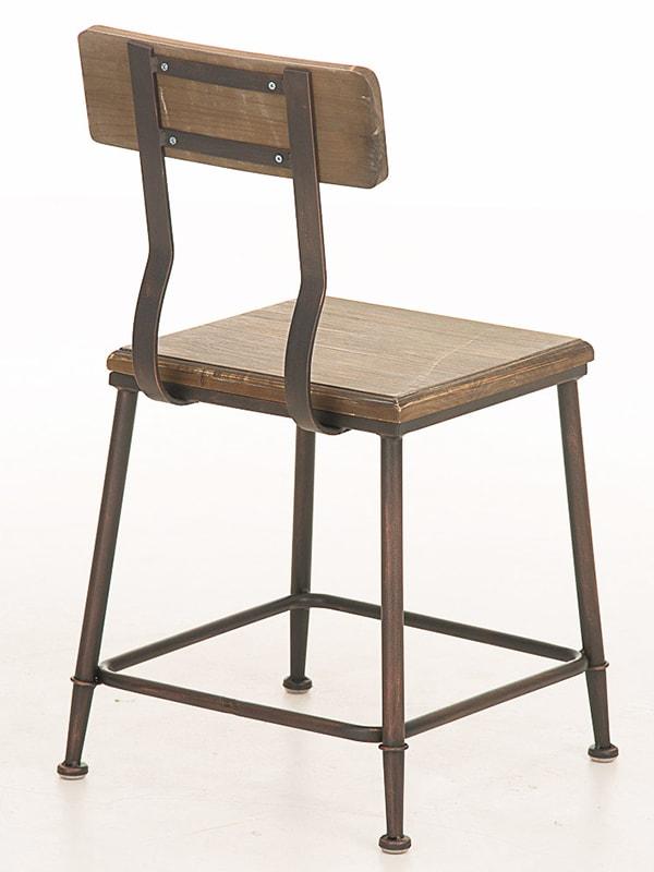 Jídelní židle s bronzovou podnoží King (SET 2 ks)