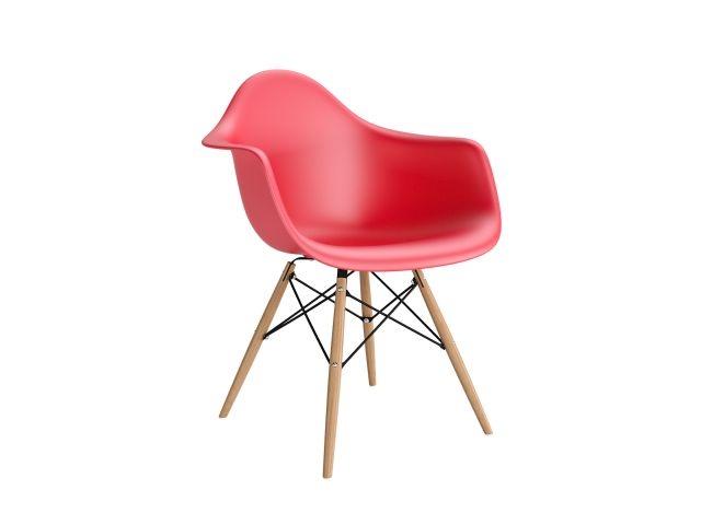 Jídelní židle s dřevěnou podnoží Blom