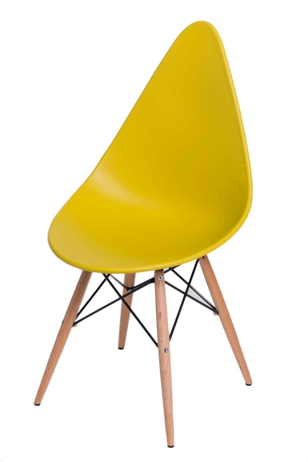 Jídelní židle s dřevěnou podnoží Desire Peak