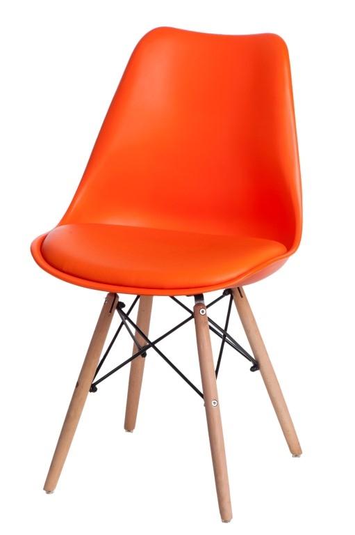 Jídelní židle s dřevěnou podnoží Norby
