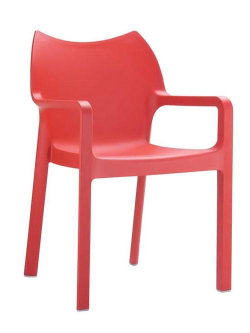 Jídelní židle s područkami Demy (SET 2 ks)