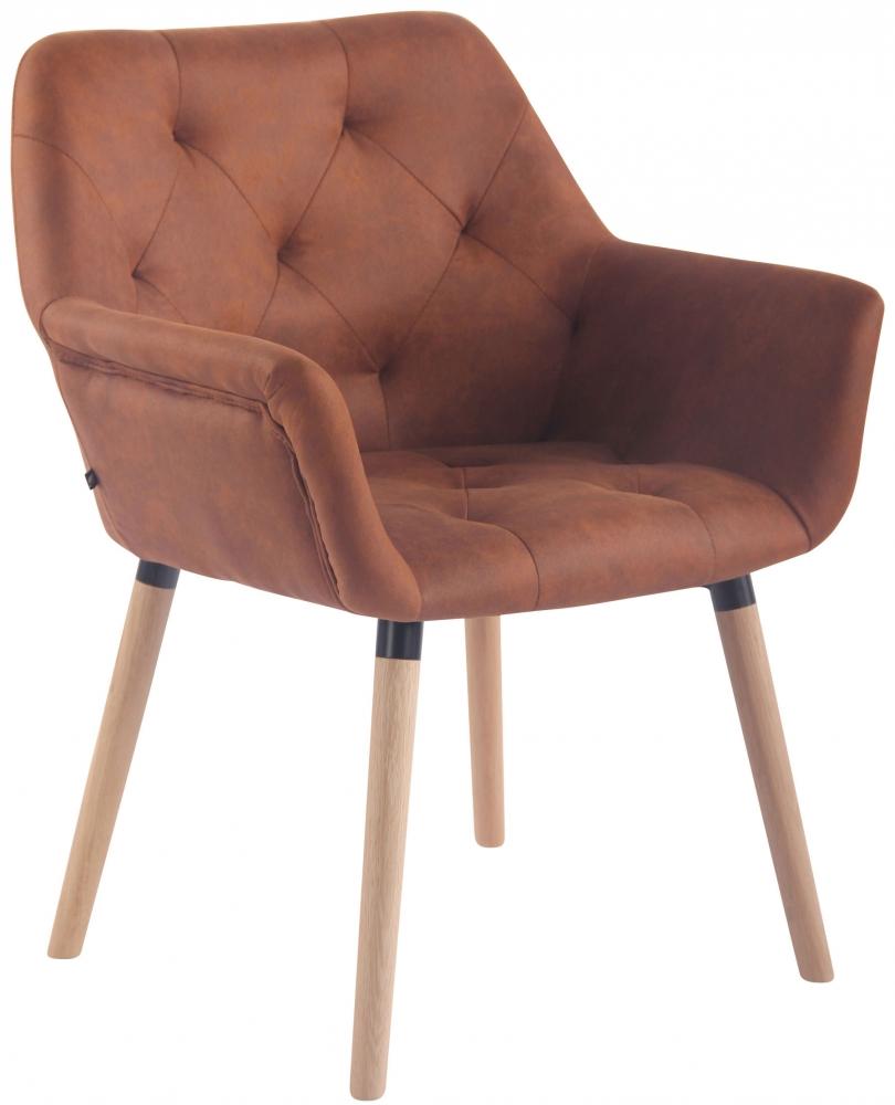 Jídelní židle Sarah, hnědá