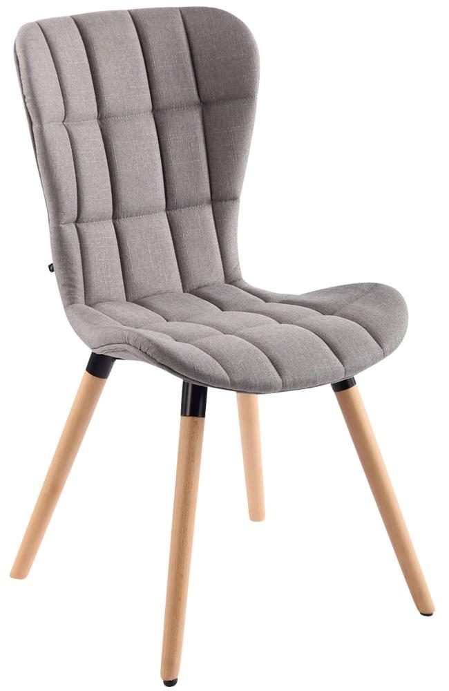 Jídelní židle Sena, světle šedá