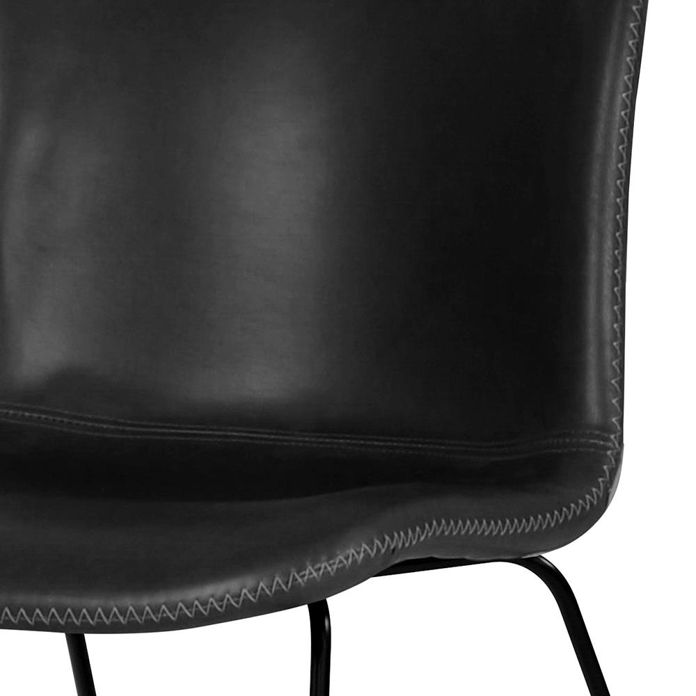 Jídelní židle Serena (SET 2 ks), vintage černá