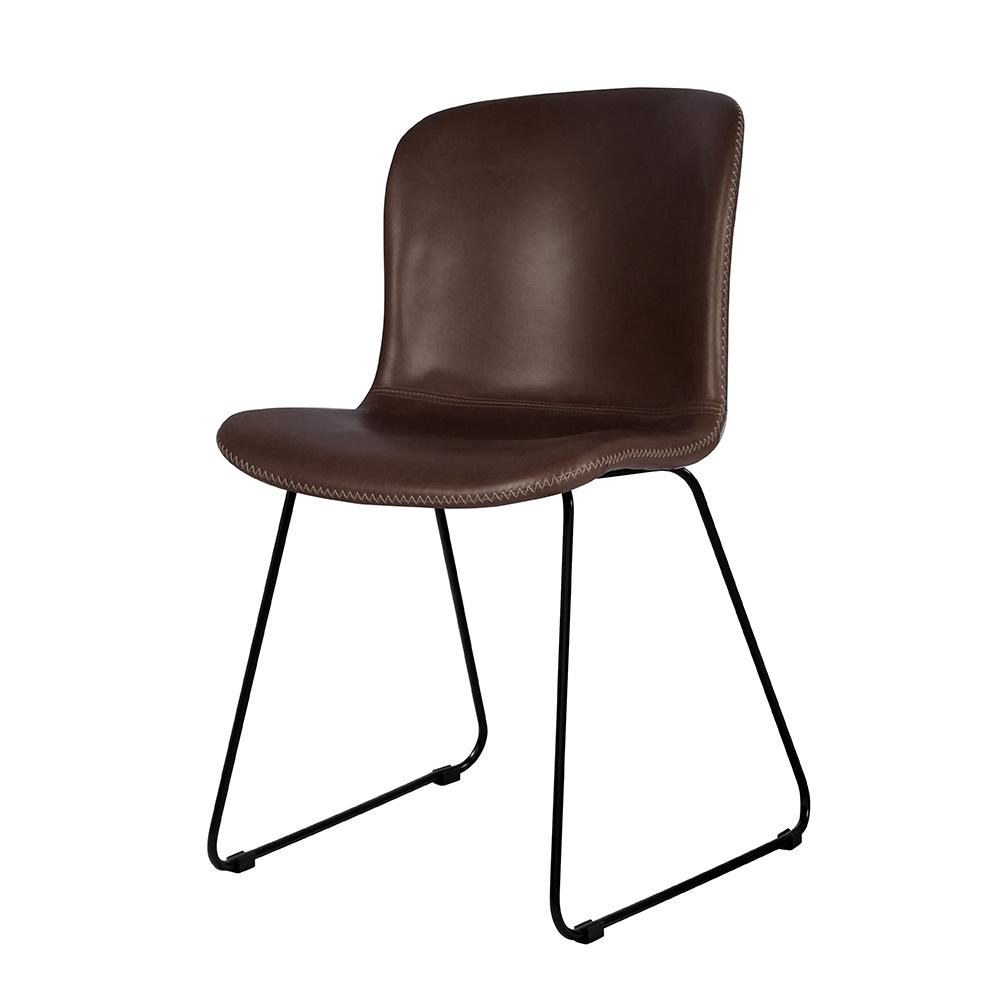 Jídelní židle Serena (SET 2 ks), vintage hnědá