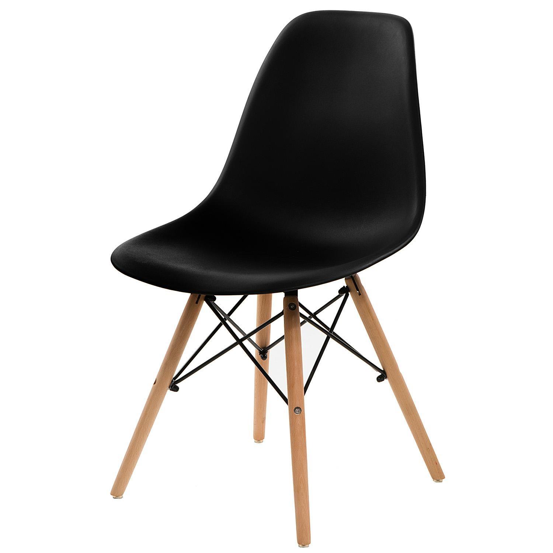 Jídelní židle Simply, černá