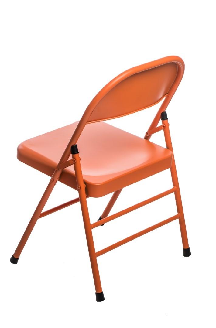 Jídelní židle skládací Cortis, oranžová