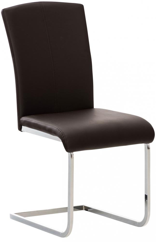 Jídelní židle Stafford, hnědá