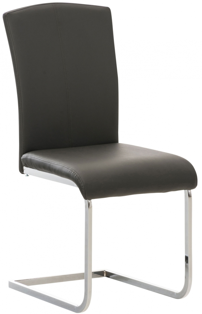 Jídelní židle Stafford, šedá