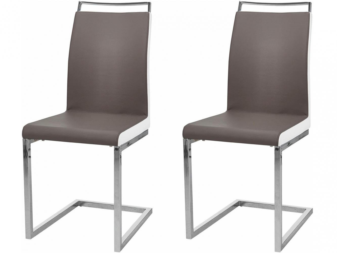 Jídelní židle Star (SET 2 ks), cappuccino