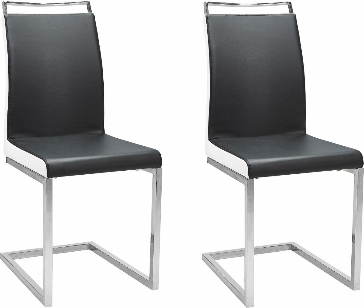 Jídelní židle Star (SET 2 ks), černá