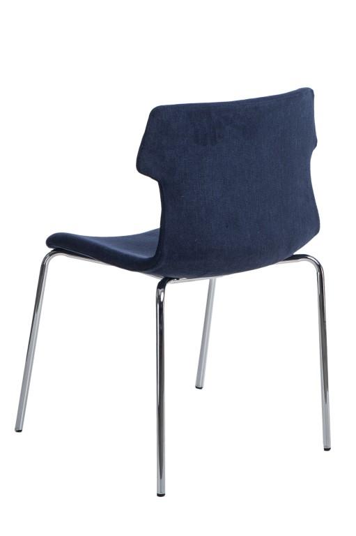 Jídelní židle Stolen čalouněná, modrá