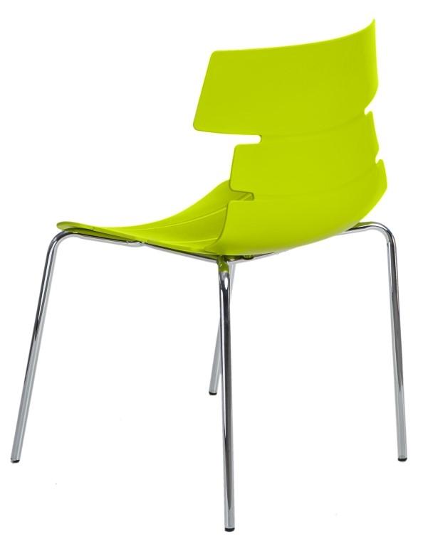 Jídelní židle Stolen, zelená
