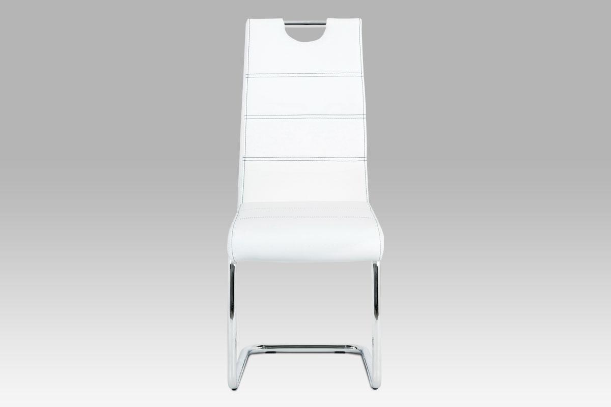 Jídelní židle Thierry, bílá