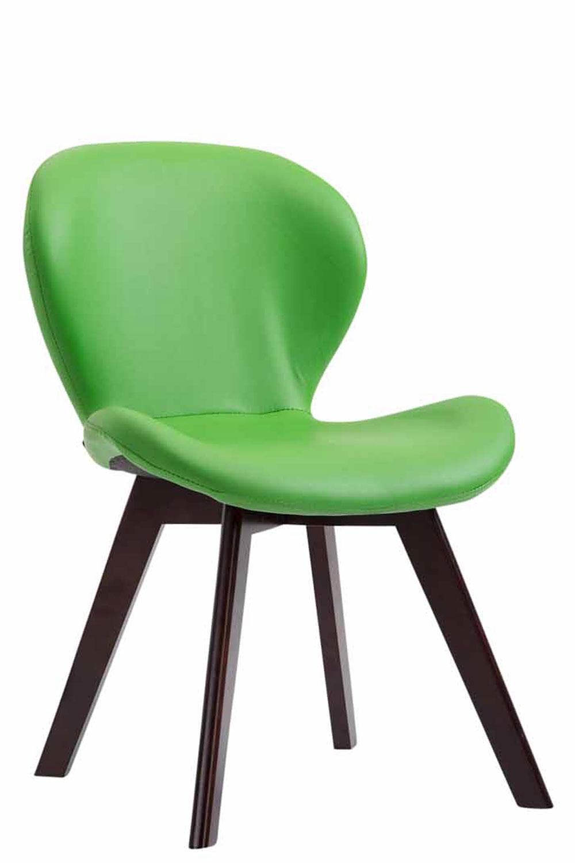 Jídelní židle Timar kůže, nohy ořech