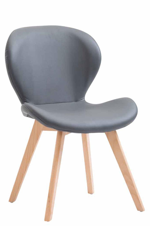 Jídelní židle Timar kůže, přírodní nohy