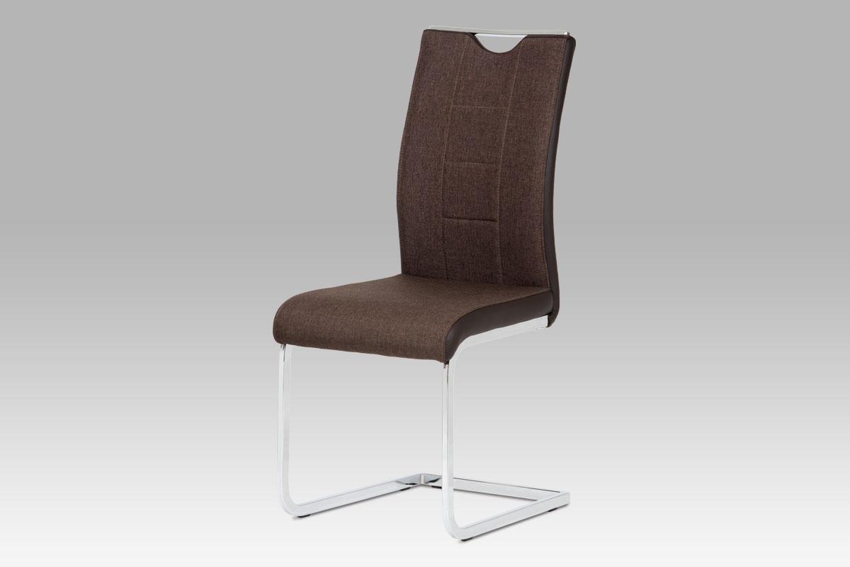 Jídelní židle Tobias, hnědá