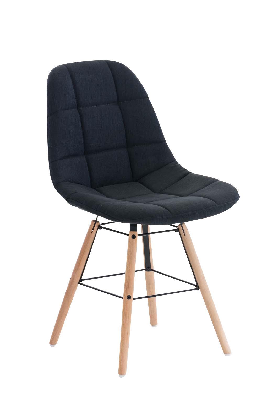Jídelní židle Toronto textil černá