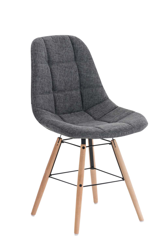 Jídelní židle Toronto textil šedá